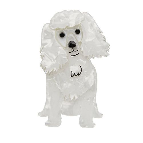 Erstwilder Oodles the Poodle Brooch