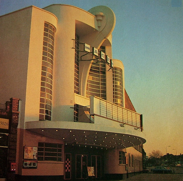 Odeon Cinema, Rayners Lane, Middlesex  (Now The Zoroastrian Centre).