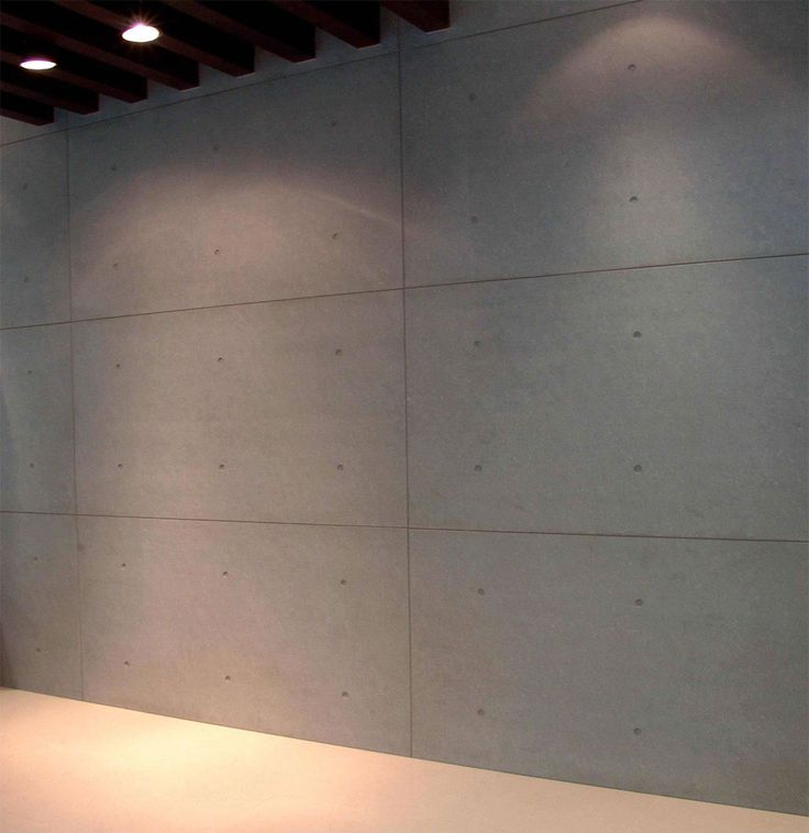 Install Fiber Cement Panels As Interior Cladding With