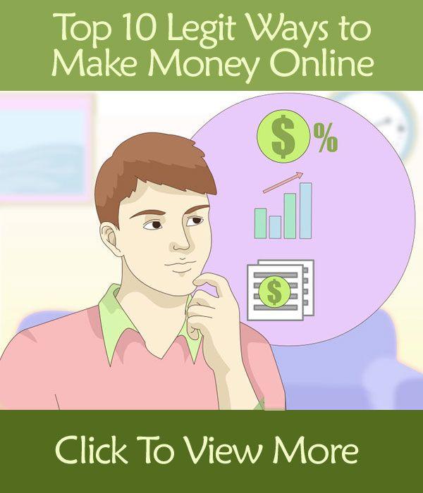 Top 10 Legit Ways to Make Money Online From Home