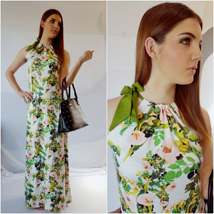 Floral Summer Maxi. Easy fuss free fabric...Cool just got Hot