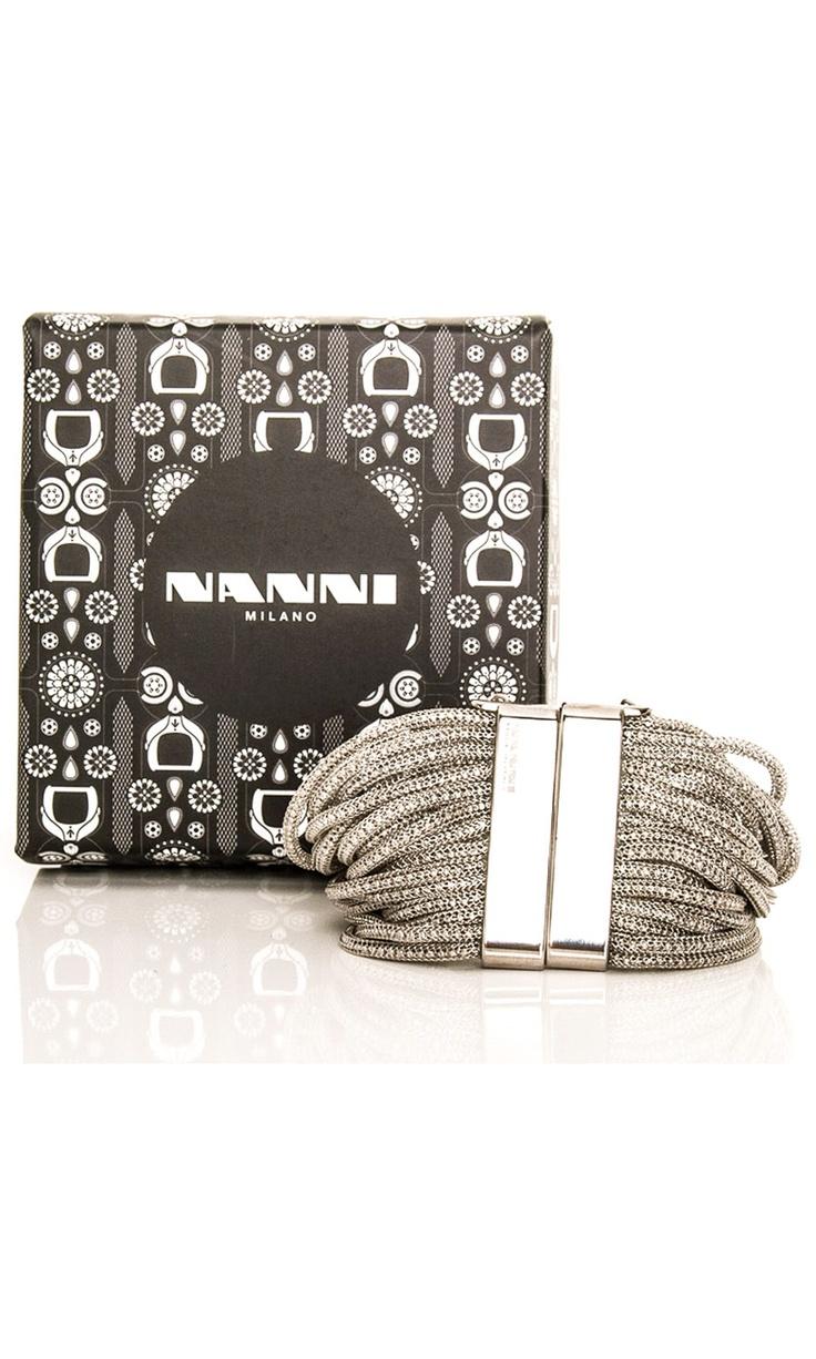 Nanni Silver Tone Bracelet -  #accessories