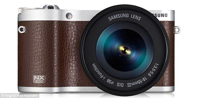 Samsung NX300 camera in Laura Bailey interview