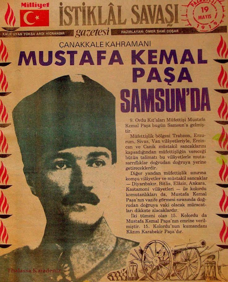19 Μαΐου 1919. Ὁ Κεμὰλ ξεκινᾶ τὶς ἐκκαθαρίσεις στὸν Πόντο.