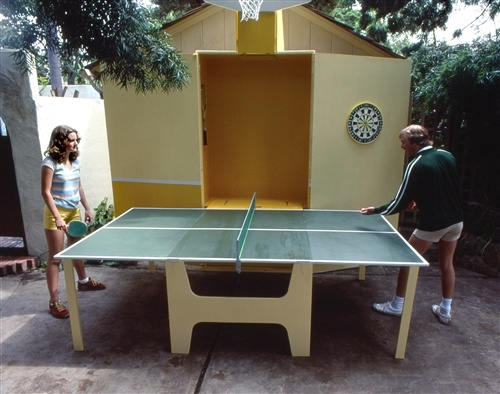 Love ping pong but no space to keep it here 39 s a plan for limited storage space home - Space needed for a ping pong table ...