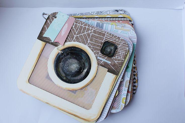 Instagram album | Scrapbook inspiráción Todo lo que necesitas para scrapbooking…