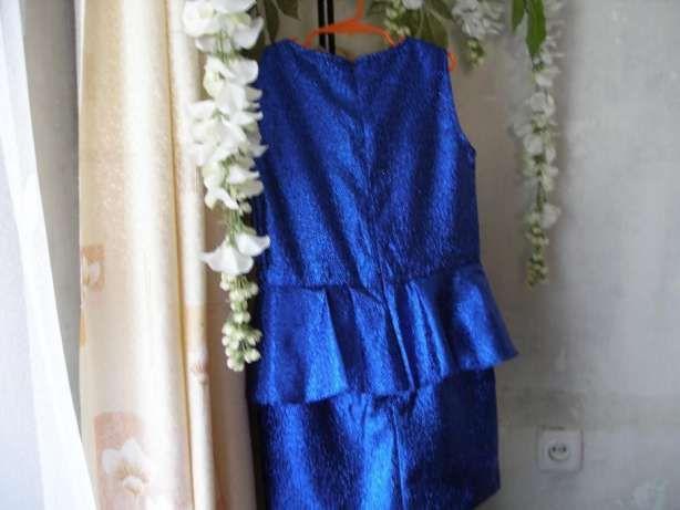 Нарядное платье для девочки---цвет электрик. Днепр - изображение 2
