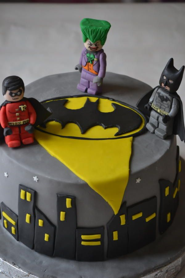 Lego Batman cake  - Cake by Baked Fancies