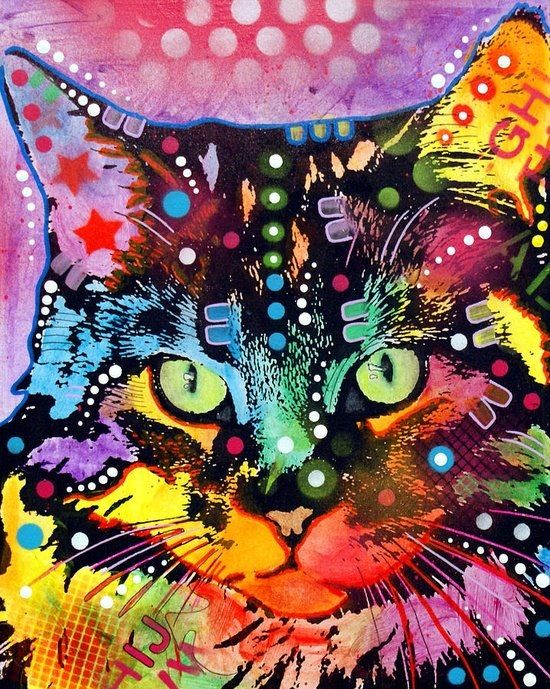 Cat art - so cool