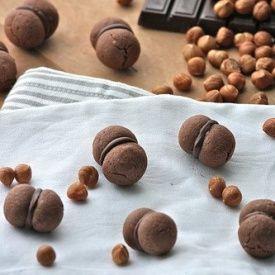 Baci di dama al cacao. Condivisa da: http://www.latanadelconiglio.com