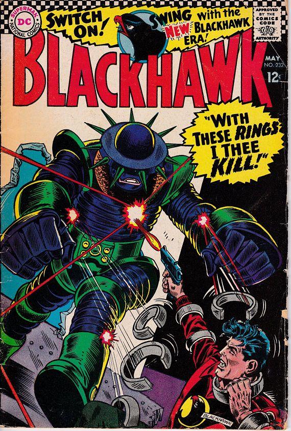 BlackHawk232  May 1967  DC Comics  Grade G