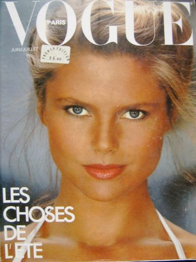 Christie's French Vogue Cover from the 70s