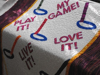 Awesome Ringette Quilt!!