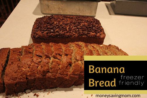 Delicious Banana Bread: Freezer Friendly Directions!