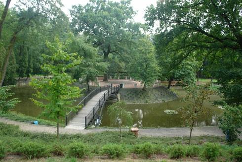 Trebišov - Park