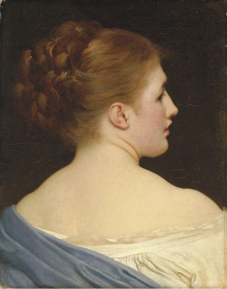 Фредерик Лейтон (1830 - 1896)  Лилия