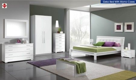 If you want a European bedroom with modern touch then this set is a sophisticated match for your taste.  #modernbedroom #bed #decor #homedecor