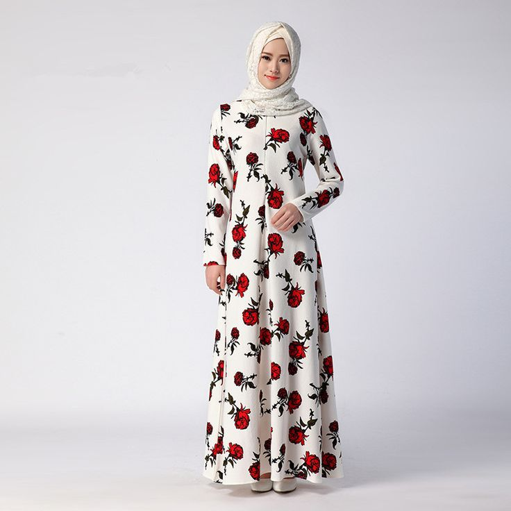 Flowers Printed 2 Colors Muslim Women's Kaftan Islamic Abaya Dress Middle East Arab Women Long-Sleeves Robe Floor-Lenght Dress     Tag a friend who would love this!     FREE Shipping Worldwide     Buy one here---> http://oneclickmarket.co.uk/products/flowers-printed-2-colors-muslim-womens-kaftan-islamic-abaya-dress-middle-east-arab-women-long-sleeves-robe-floor-lenght-dress/