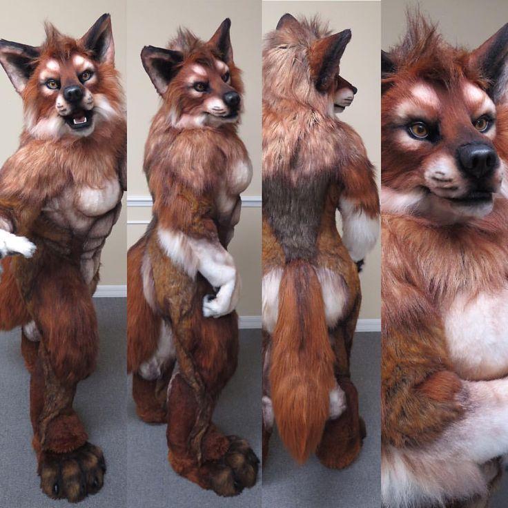"latinvixen: ""Lady werewolf quick shots before she ships out #Mixedcandy #fursuit…"