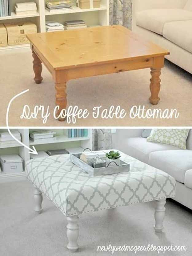 16 DIY Ideas For Coffee Tables 11