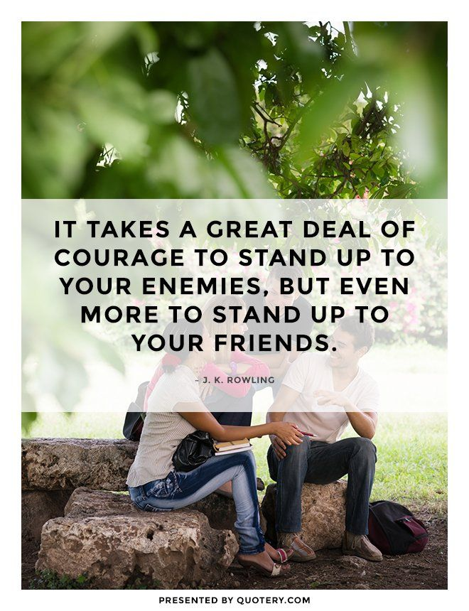Quote about friendship.