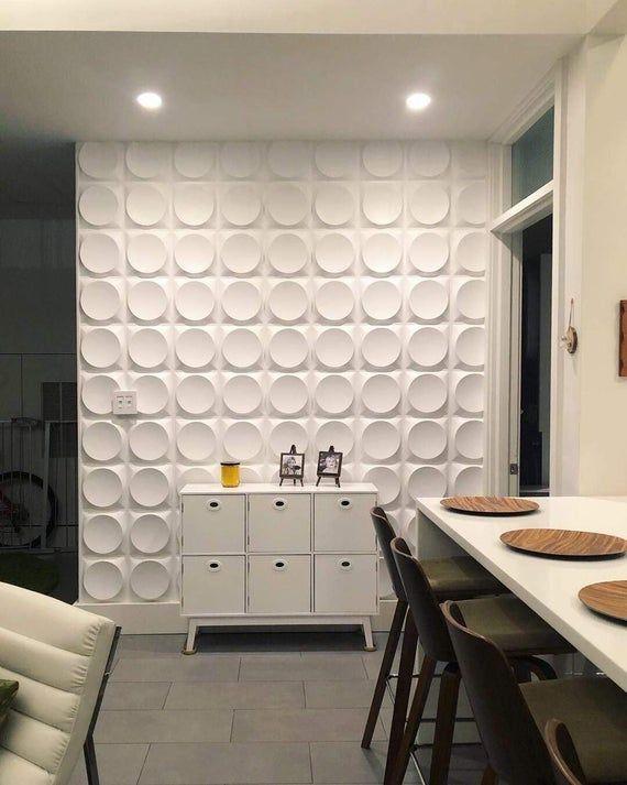 Art3d Textured Plastic 3d Decorative Wall Panel Pvc Etsy In 2020 Vinyl Wall Panels Decorative Wall Panels Wall Paneling