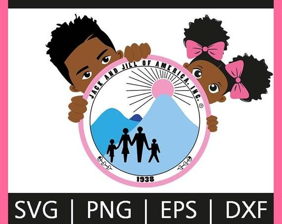 Barcut Jack And Jill Of America Peek Afro American Boy Girl Clipart Jack And Jill How To Draw Hands Girl Clipart