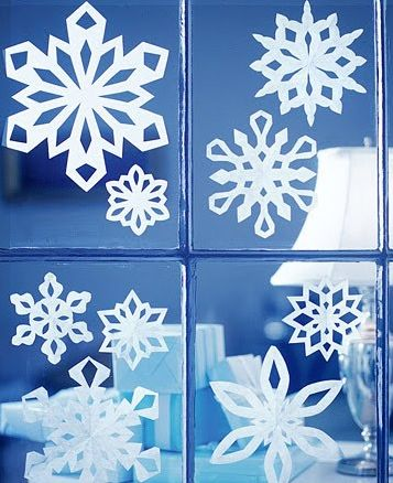 Decoració Hivern: Ideas, Papersnowflakes, Christmas Crafts, Paper Snowflakes, Holidays, Martha Stewart, Make Paper, Kid