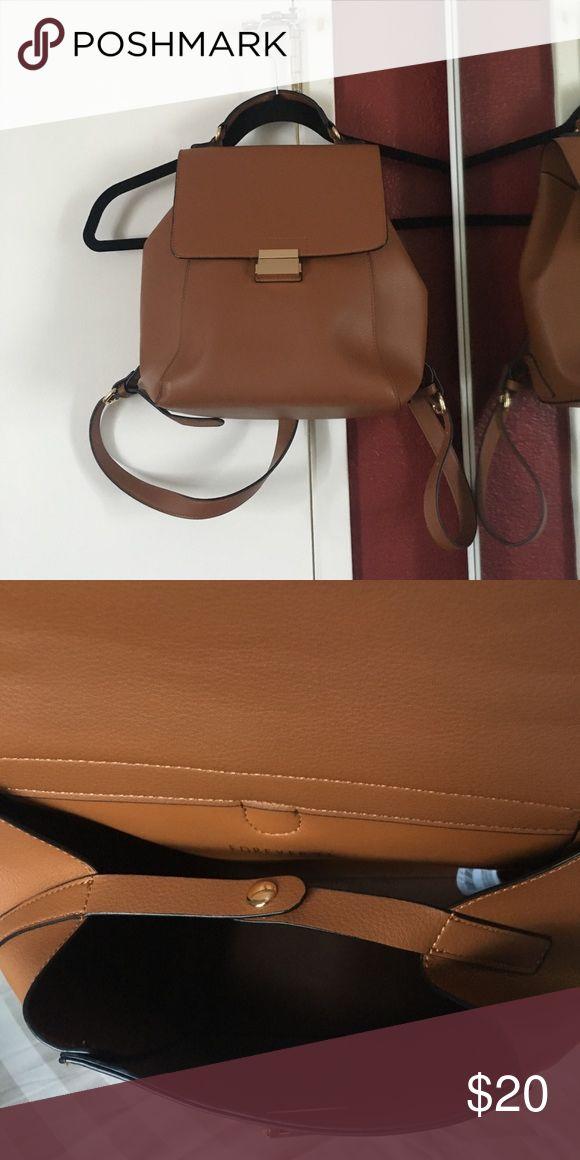 FOREVER 21 BROWN BACKPACK!! cute brown backpack Forever 21 Bags