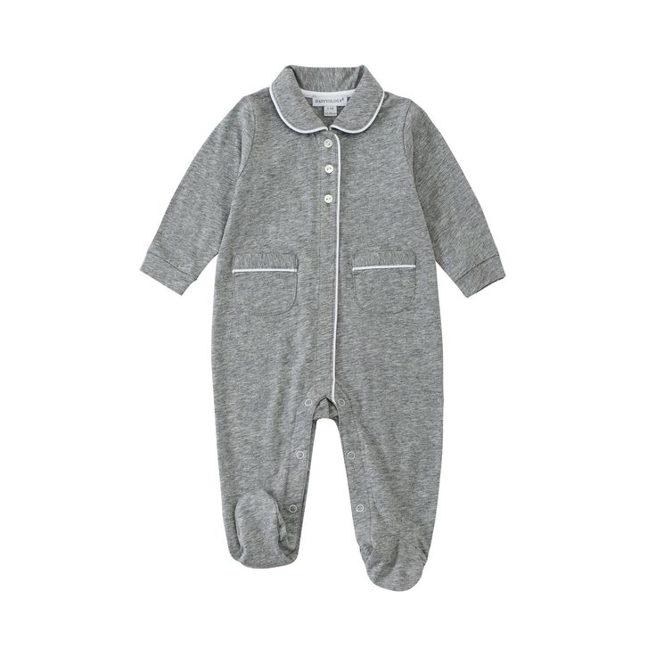 50% off everything at Happyology | Peter Pan Collar Sleepsuit
