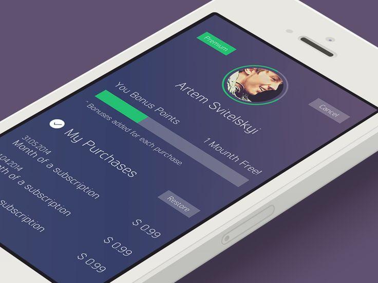 oWeather App 3.0 User Settings (Coming Soon) by Artem Svitelskyi