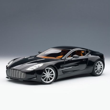 Aston Martin One-77 (Black Pearl). The Fairest Of Them All.