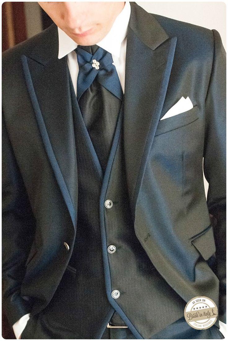 Modern and elegant, groom's attire by Petrelli Uomo -  ph Stefano P. Tonucci #italianstyle http://www.brideinitaly.com/2013/10/tonuccipelagallina.html #wedding