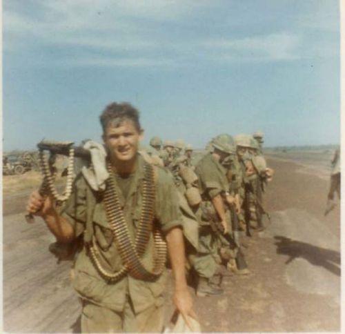 501st Infantry Regiment machine gunner, date and location unknown.