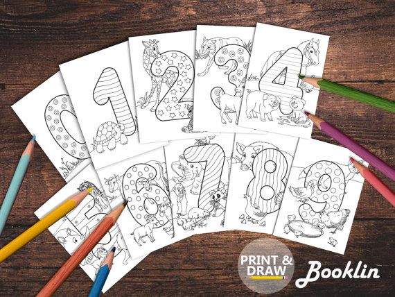 COLORING PAGE for kidsAdult Coloring от Boooklin на Etsy