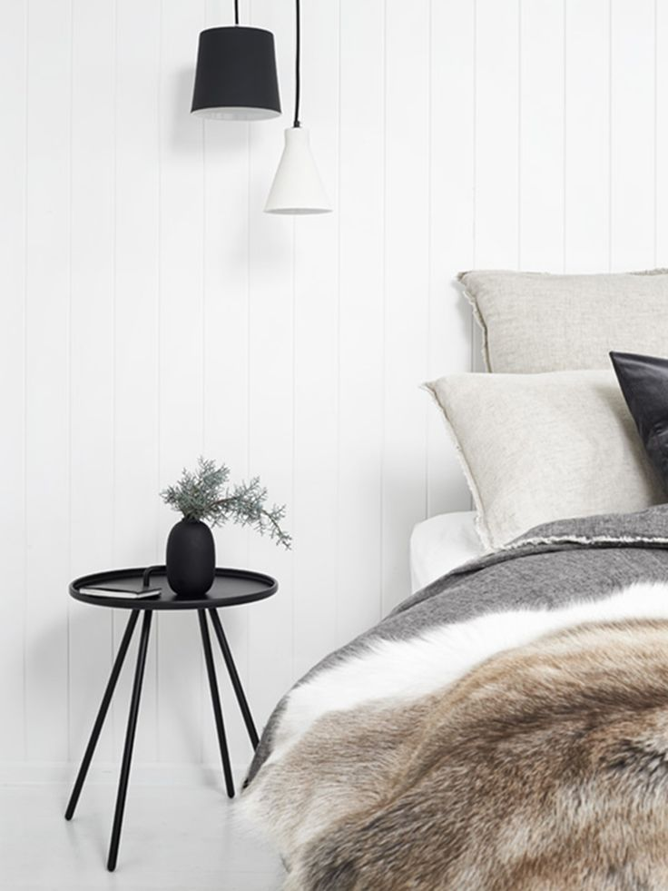 Flocca linen bedding in Sable & Nox at Nord House, Red Hill | Est Living