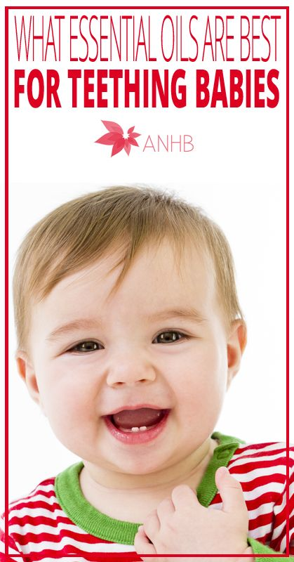 What Essential Oils Are Best For Teething Babies All