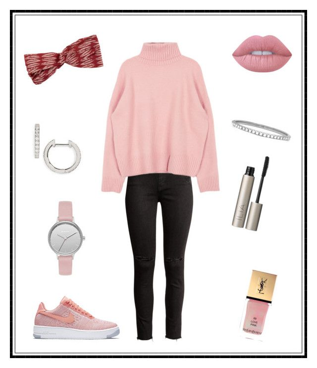 """""""#137"""" by e-elmedal on Polyvore featuring NIKE, Billabong, Yves Saint Laurent, Lime Crime, Nordstrom, Skagen, EF Collection and Ilia"""