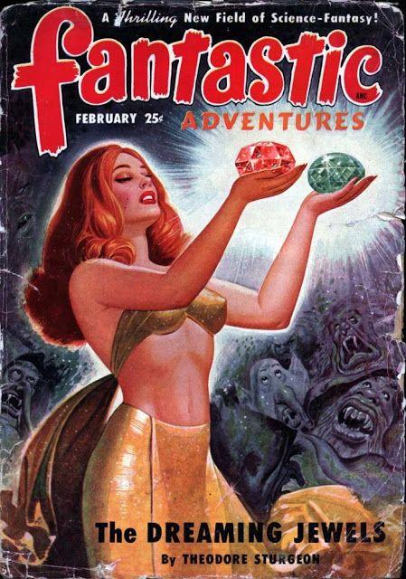 Fantastic Adventures pulp magazine   pulp