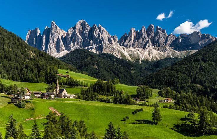 Santa Maddalena, Val di Funes, Alto-Adige, Dolomites