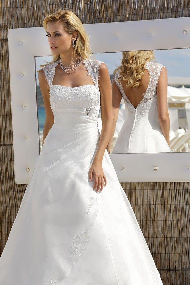 18 best wedding M&N images on Pinterest | Wedding frocks, Short ...