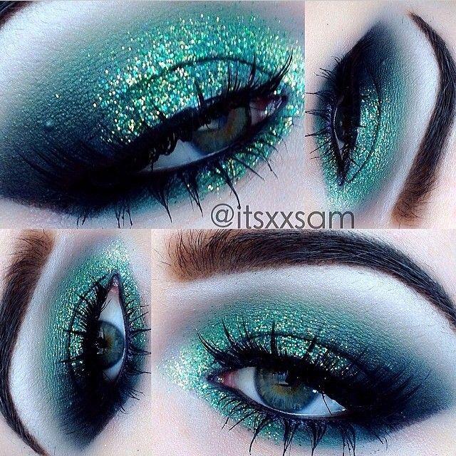 .@Sugarpill Cosmetics Cosmetics | Gorgeous eyes by @itsxxsam using #Sugarpill Midori, Tako and Bulletproof eyes... | Webstagram