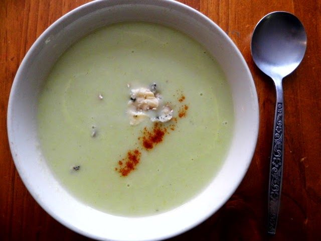 One Mother Hen: Celery and potato soup