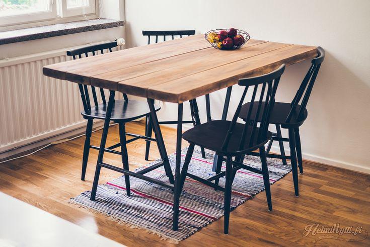 Täydellinen lankkupöytä: Helmihytti