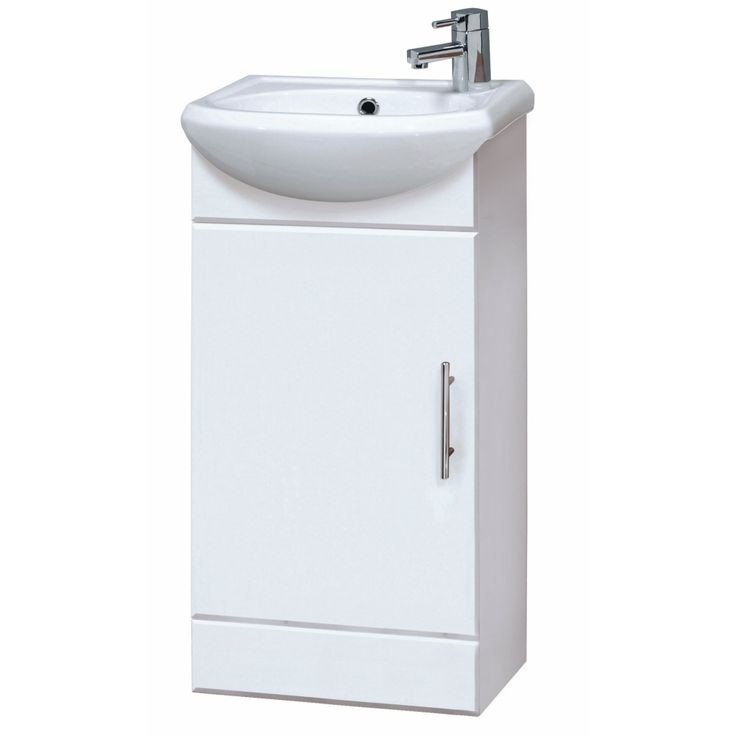 Bathroom-Cloakroom-Compact-White-Gloss-Vanity-Unit-Cabinet-with-Ceramic-Basin