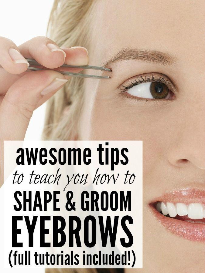 Eyebrow Tutorial: 17 Best Ideas About Pluck Eyebrows On Pinterest