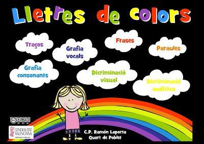 """La CASETA, un lloc especial: """"Lletres de colors"""""""