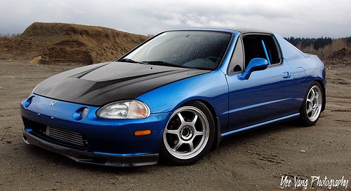 Honda Civic Del Sol via  kidsafe_yee on Flickr