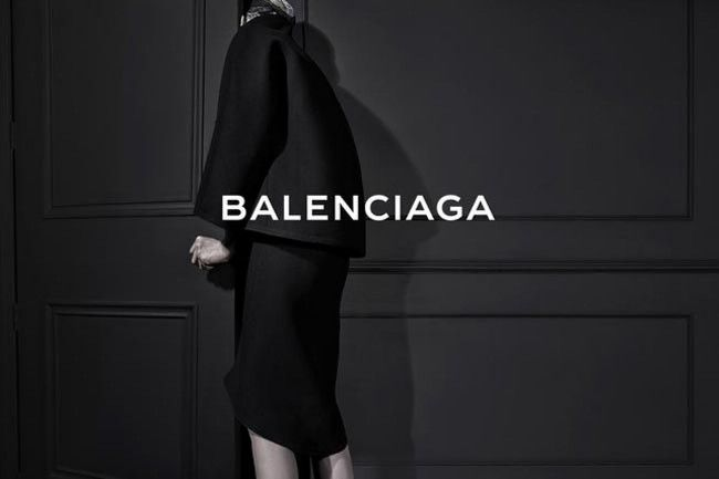 Balenciaga's first ad under Alexander Wang is revealed