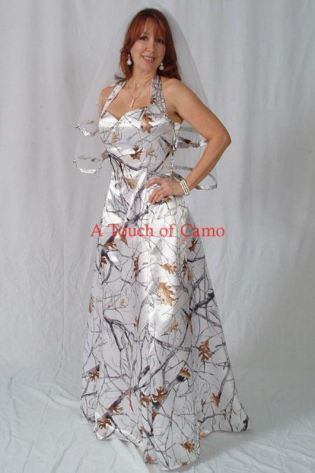camo prom dress or wedding dress